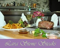 New Lava Stone Steaks Menu